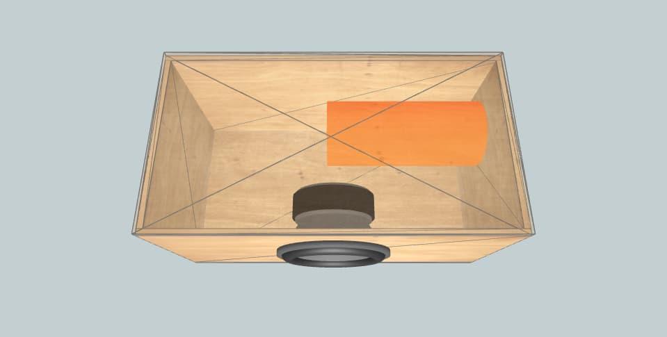12 дюймов короб для сабвуфера Ural bulava 12 v2