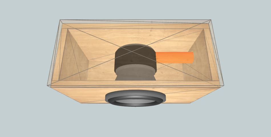 SSA F8L revised - короб для сабвуфера