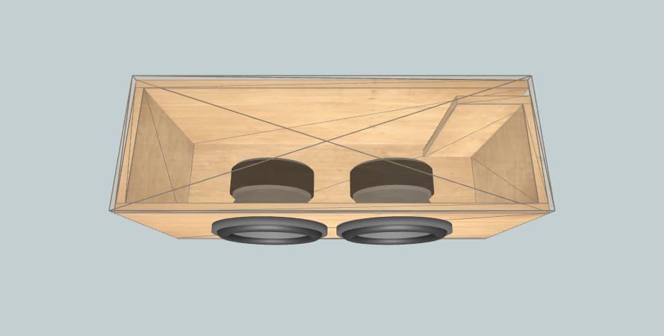 Alpine Anson - subwoofer box