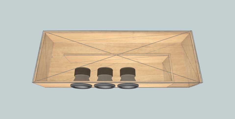 8 inch subwoofer box Sundown Audio саб под кровать(нужно два таких)
