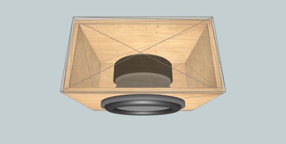 12 inch subwoofer box JBL CS1214