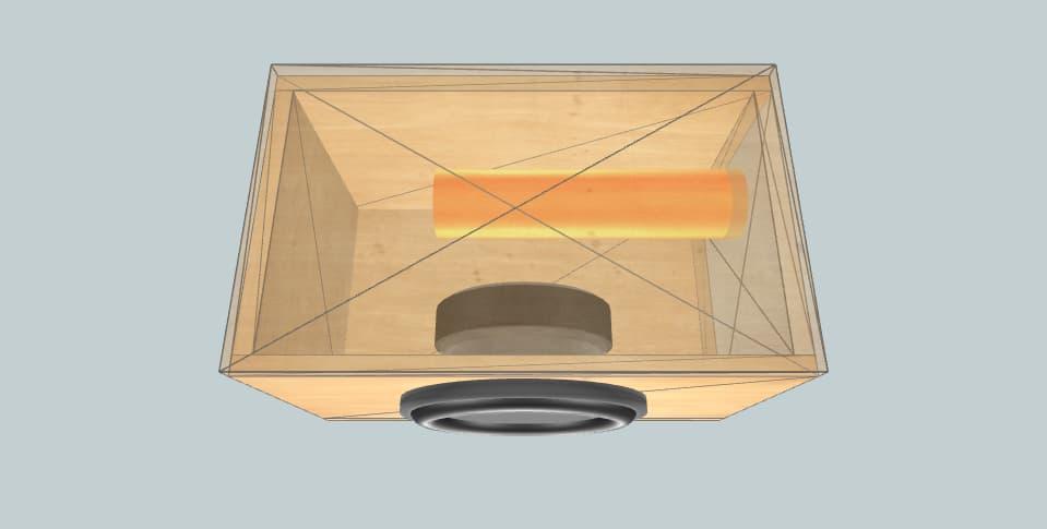 10 дюймов короб для сабвуфера Cadence Z-10W4