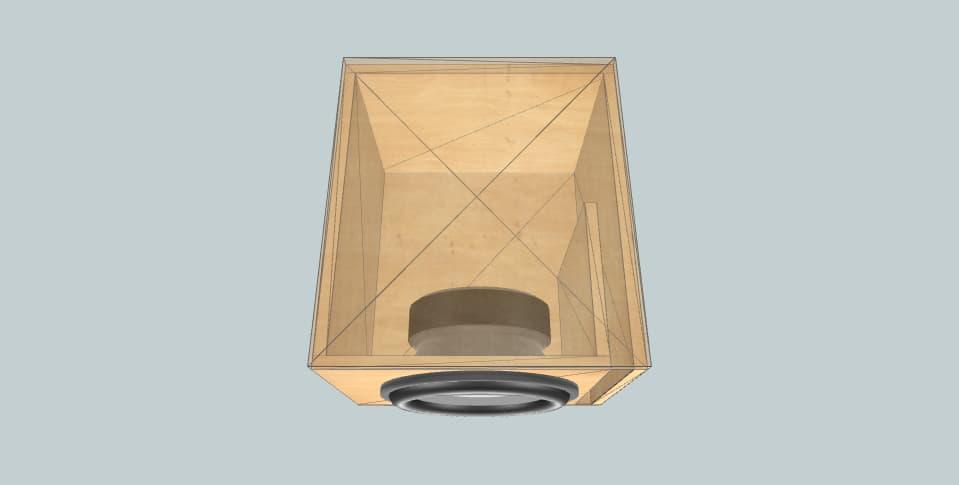 15 дюймов короб для сабвуфера MTX RT15-04