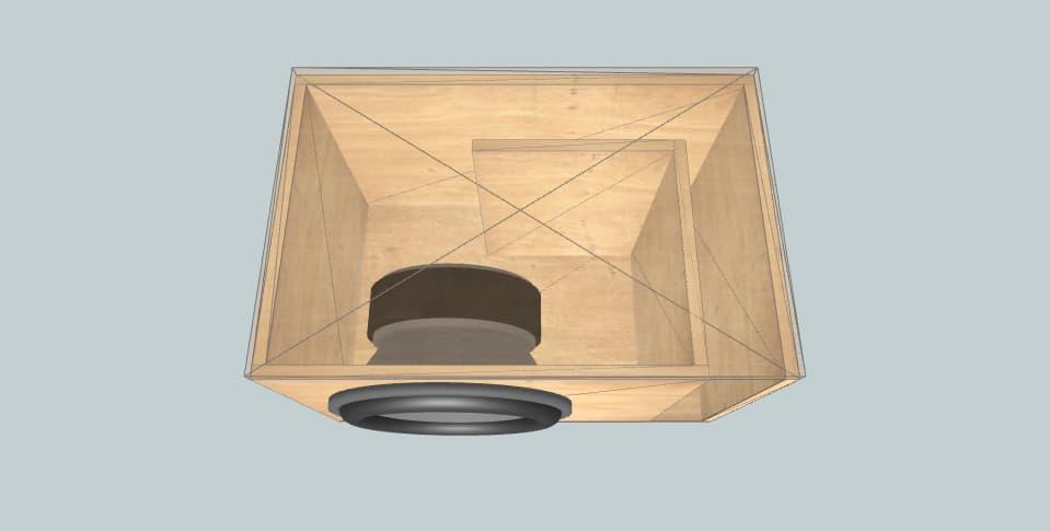 15 дюймов короб для сабвуфера Ddx15  smaller