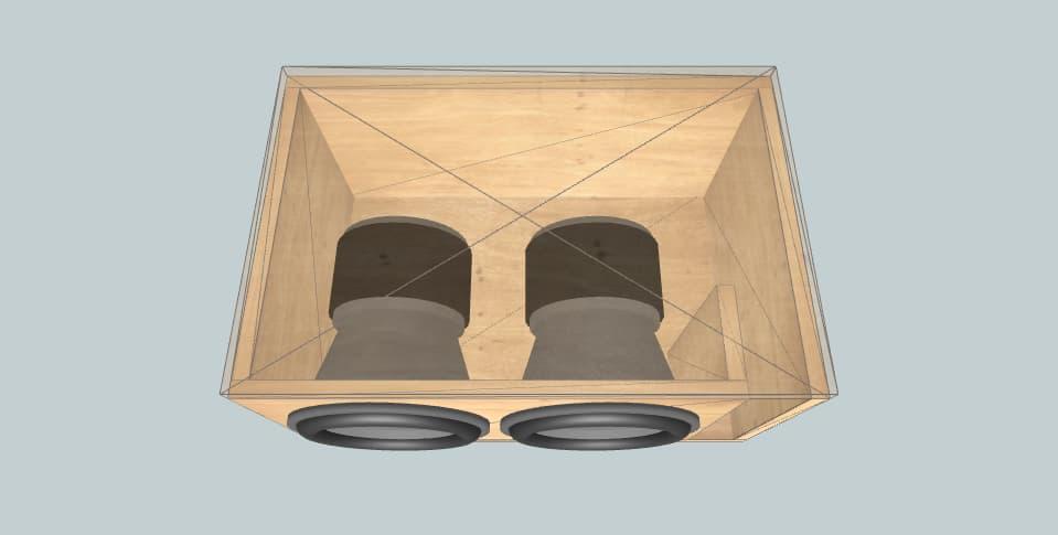 15 inch subwoofer box TRF 15
