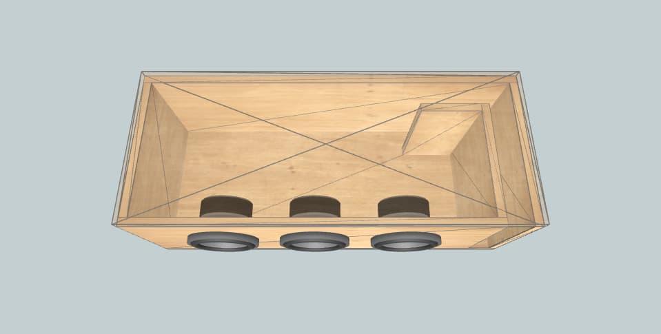 6.5 inch subwoofer box Skar 3 skar 6.5 evl