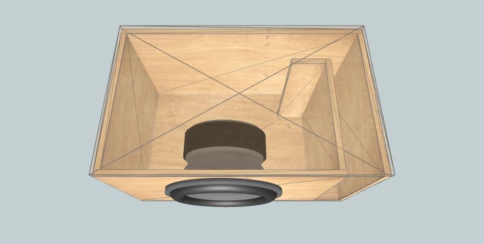 Skar DDX-15 - subwoofer box