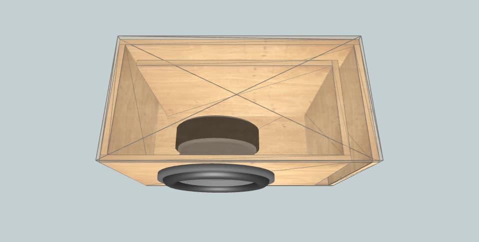 12 inch subwoofer box DL Audio Gryphon Lite 12