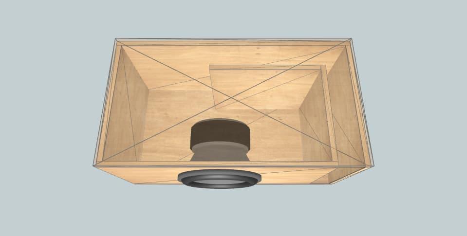 12 дюймов короб для сабвуфера Pioneer ts-w3002d4