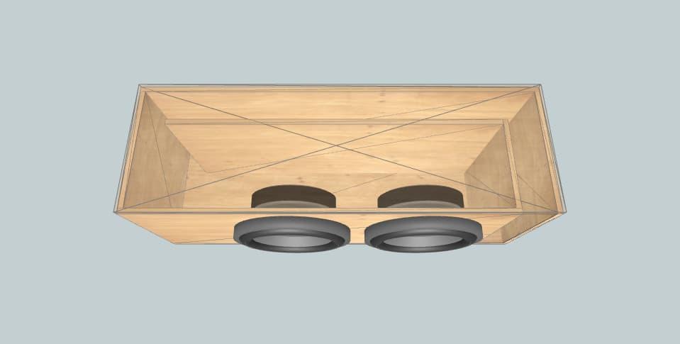 6.5 inch subwoofer box Subwoofer proiect 1