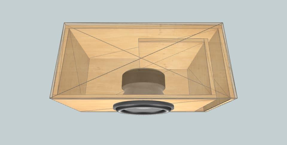 12 inch subwoofer box Kicker 102CVX12