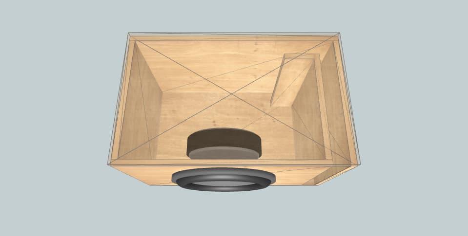 12 дюймов короб для сабвуфера Orion McFazlow