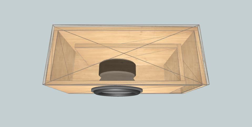 15 inch subwoofer box Skar DDX15