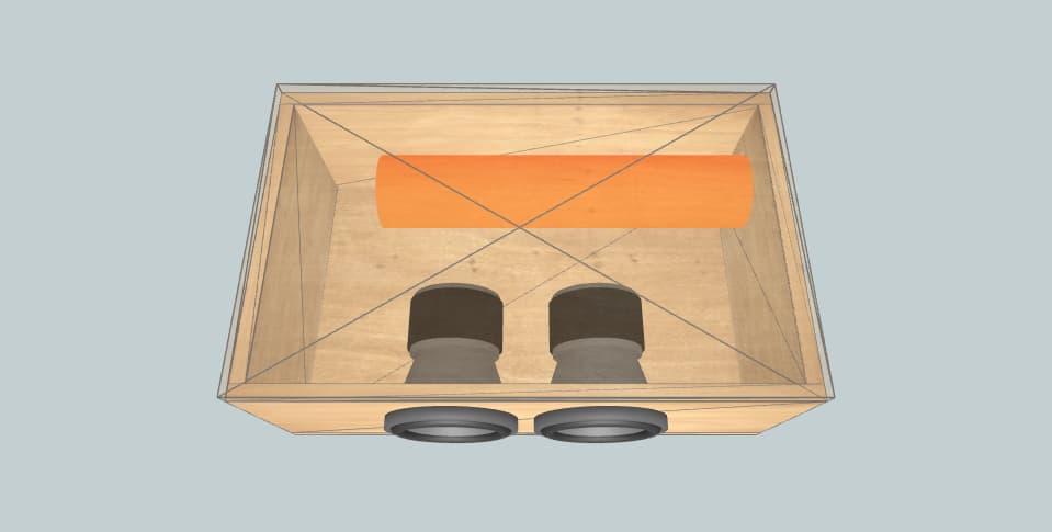 6.5 дюймов короб для сабвуфера Sundown Audio sa6.5