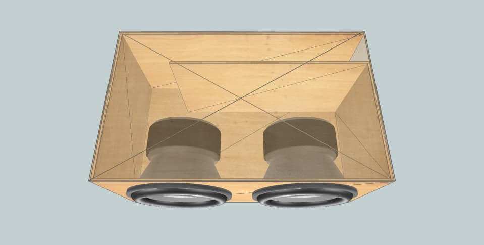 15 inch subwoofer box Sundown Audio X.v3