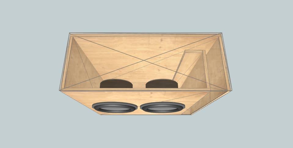 Incriminator Audio LID2 wall?2 - subwoofer box