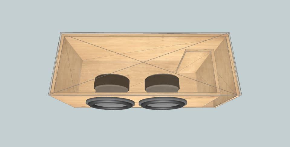 12 inch subwoofer box Deaf Bonce Machete M12 v2 D2/D4