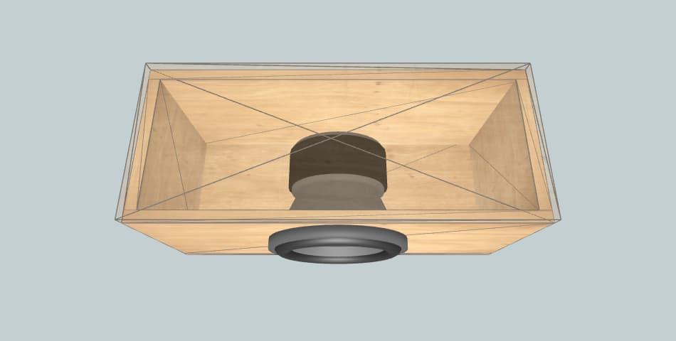 Skar MA-8 - subwoofer box