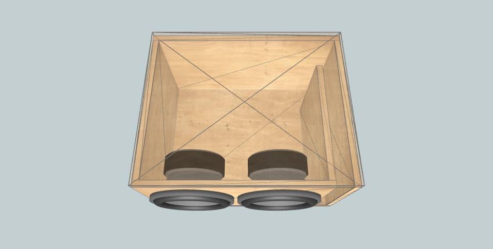 10 дюймов короб для сабвуфера DD Audio DD Audio 210d D4