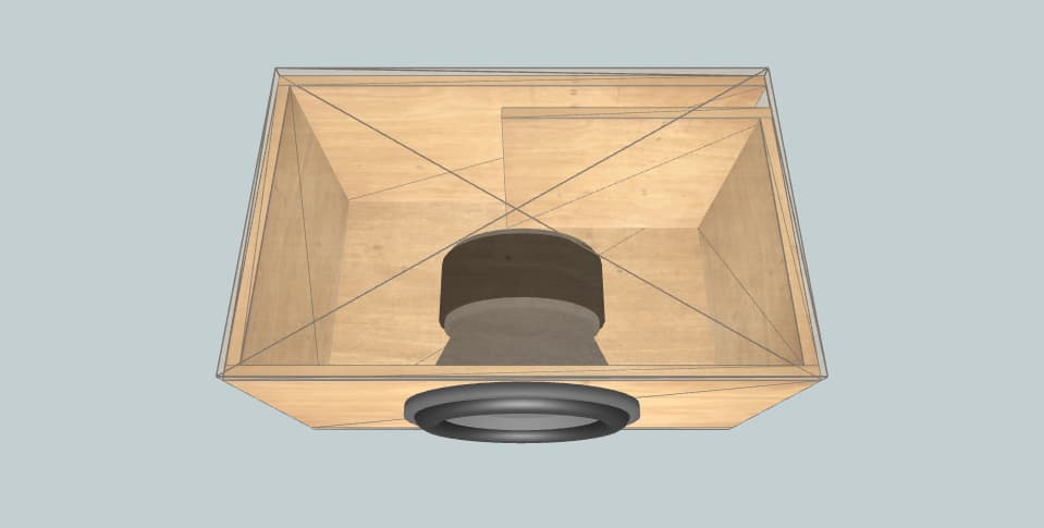 12 дюймов короб для сабвуфера Helix SPXL 12 Competition