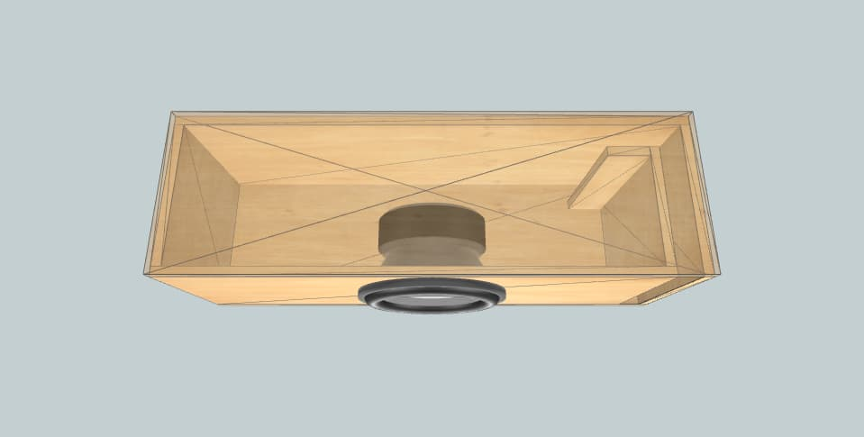 12 дюймов короб для сабвуфера Rockford Fosgate P3 600rms