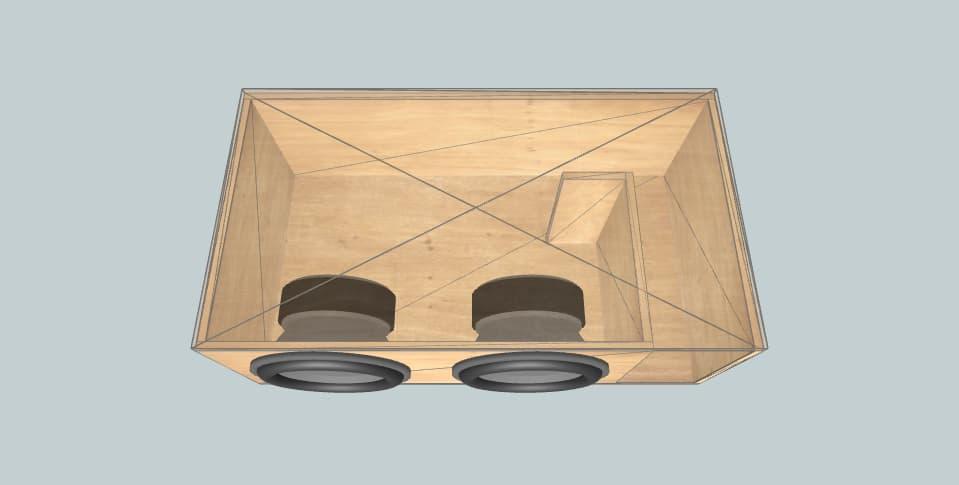 15 дюймов короб для сабвуфера PSI Platform 1