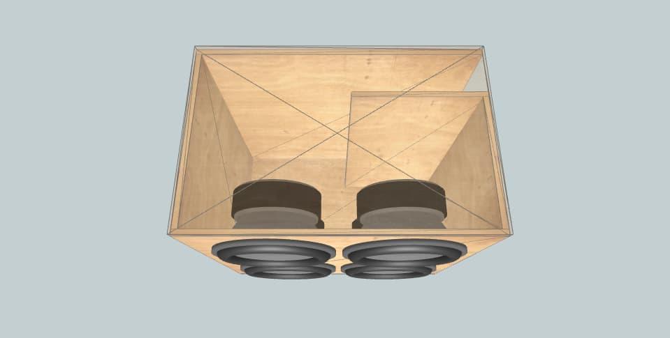 15 дюймов короб для сабвуфера Sundown Audio 4X SA15 suv build
