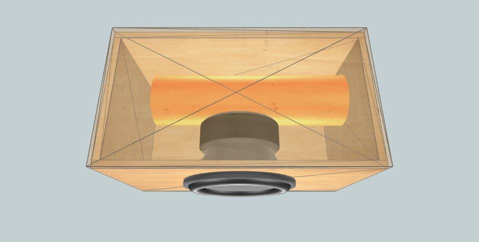 12 дюймов короб для сабвуфера Alphard Apocalypse