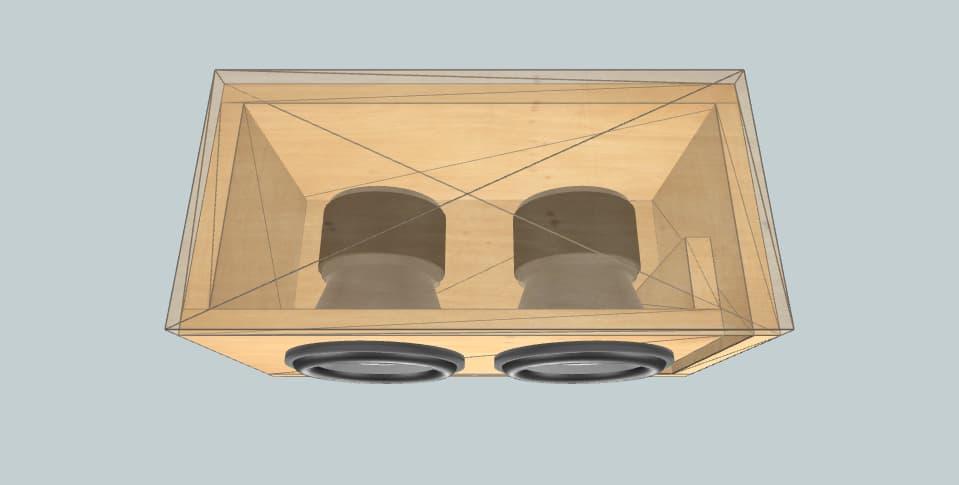 12 inch subwoofer box Rockville audio
