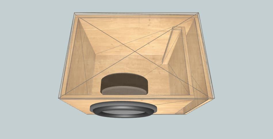 MTX RTS12-04 - короб для сабвуфера