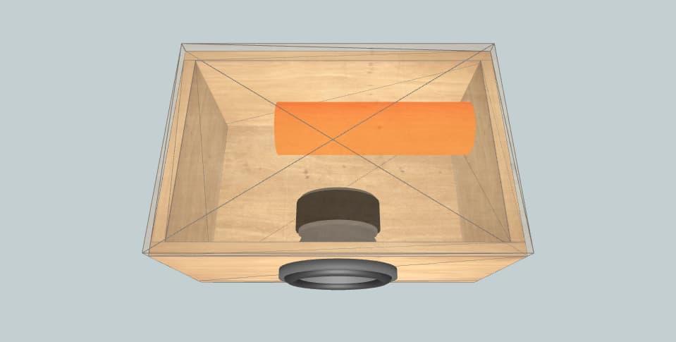 8 inch subwoofer box magnetz 8 inch 37hz