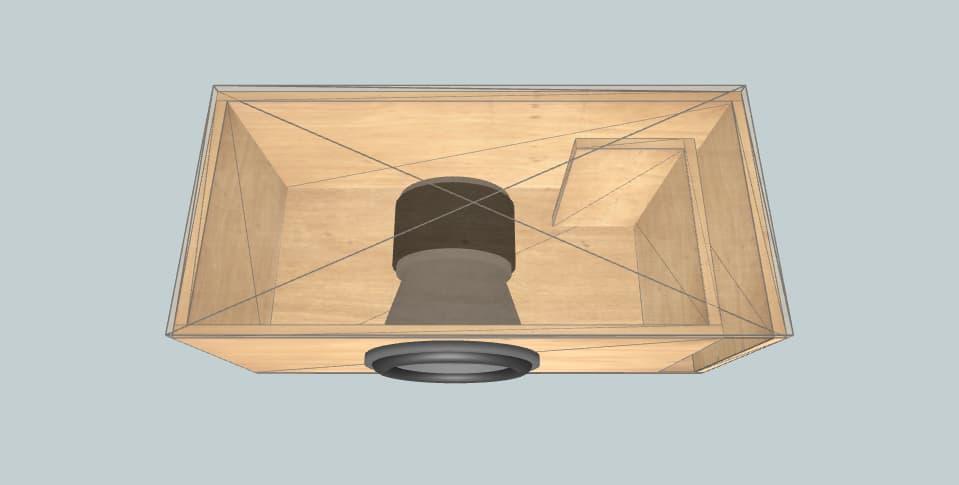 12 дюймов короб для сабвуфера Nightshade v3 12 recommended box