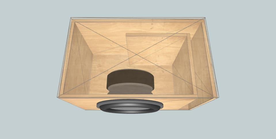 15 дюймов короб для сабвуфера Ural ТТ 15