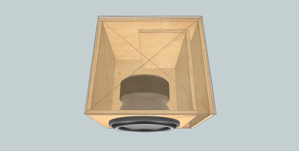 12 inch subwoofer box Pioneer TS-W3004SPL
