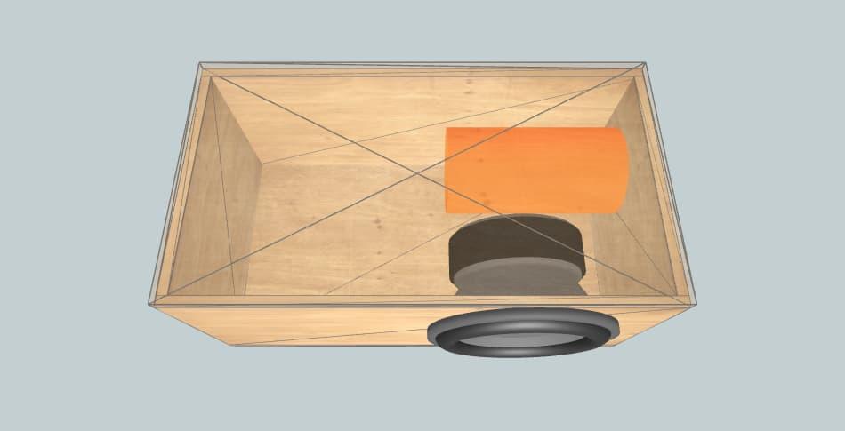 Universal 12 - короб для сабвуфера