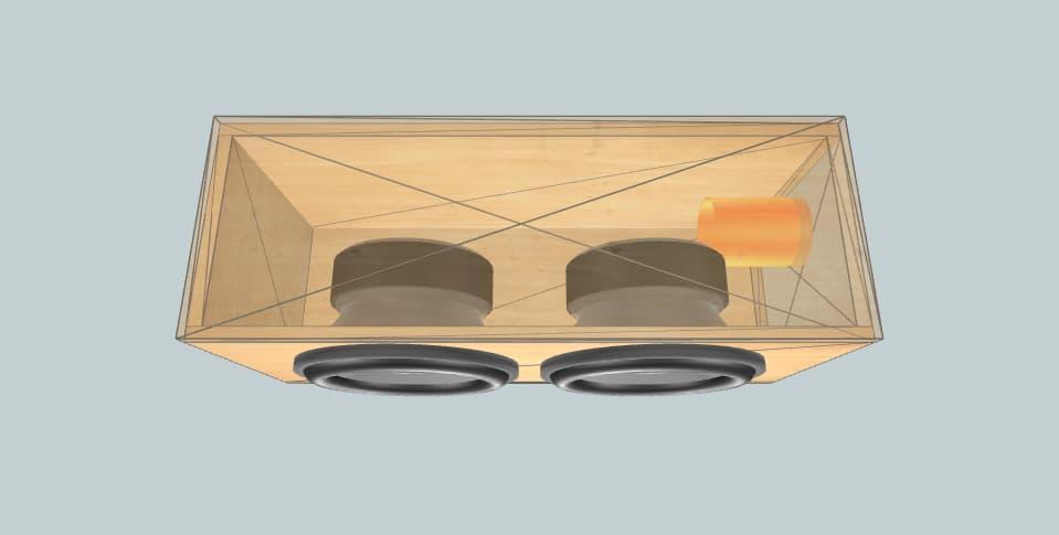 12 дюймов короб для сабвуфера Cadence ud124 5series