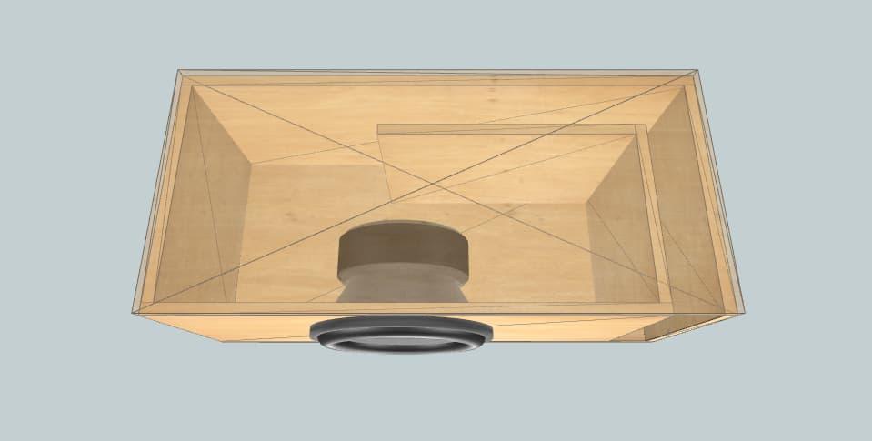 12 дюймов короб для сабвуфера Hs12 32 65