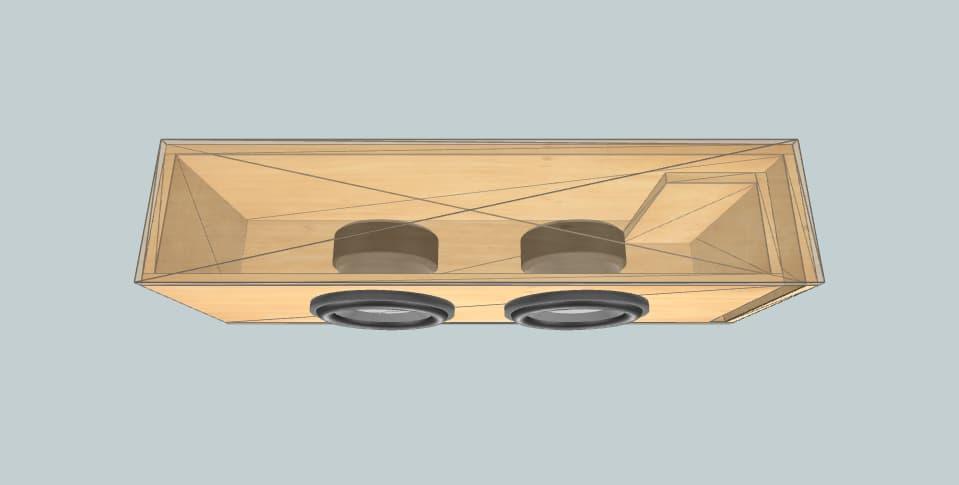 10 дюймов короб для сабвуфера Cadence ud104
