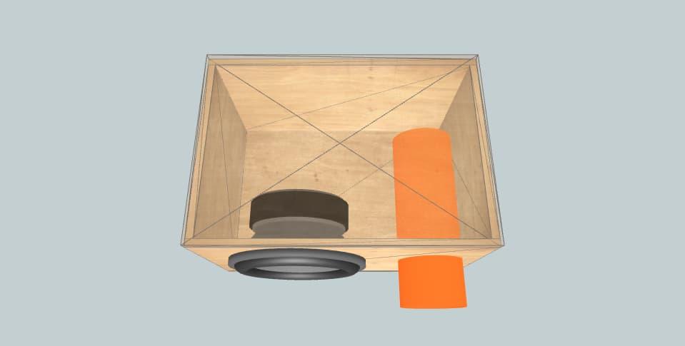 12 inch subwoofer box Aria 12