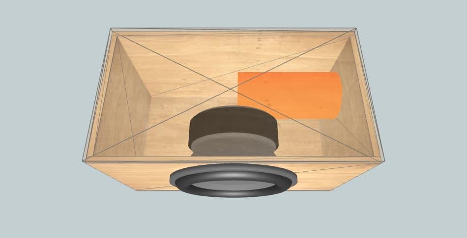 Avatar SST-2515D4 - короб для сабвуфера