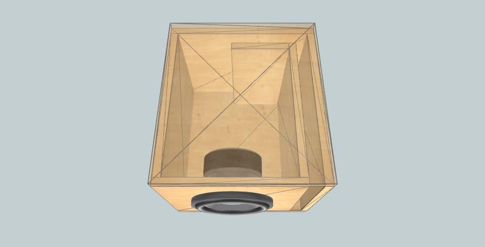 8 inch subwoofer box Fredo