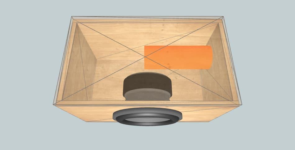 Machete M10D4 - subwoofer box
