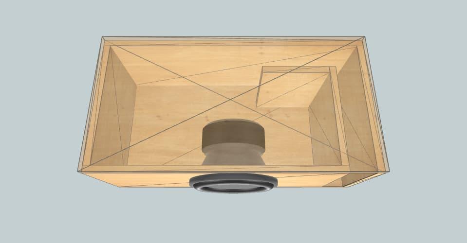 10 дюймов короб для сабвуфера MTX 9500