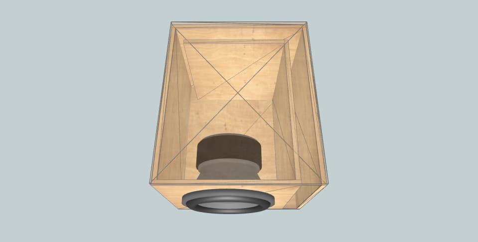 10 дюймов короб для сабвуфера Ural Molot 10
