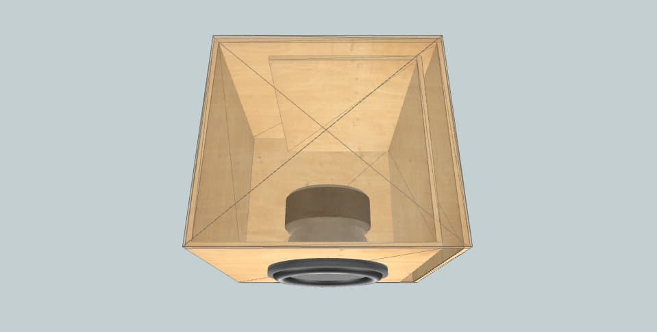 10 inch subwoofer box Power Acoustik Tito