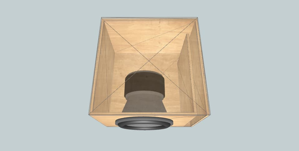 12 дюймов короб для сабвуфера B2 Audio RAMPAGE 12 D1/D2