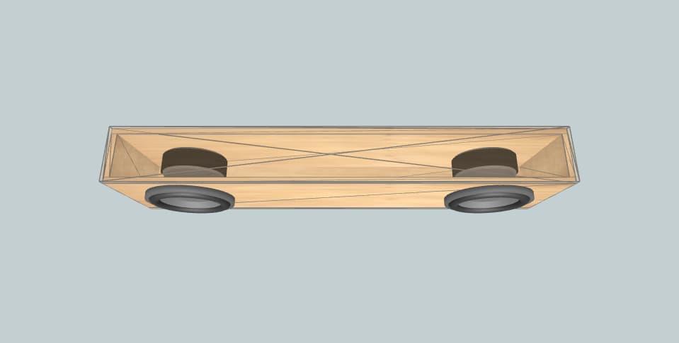 8 inch subwoofer box Skar VD-8