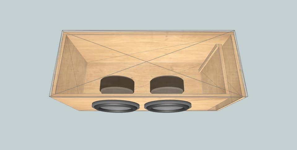 10 inch subwoofer box Deaf Bonce DeafBonce Machete M10 v2 D4