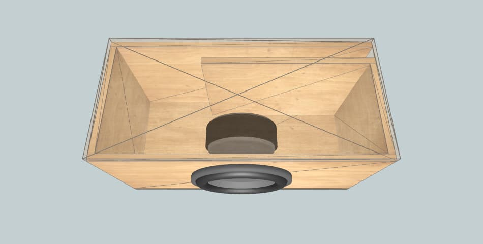 Ural Molot 10 - subwoofer box