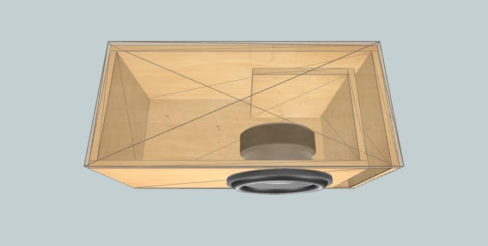 12 inch subwoofer box Incriminator Audio 12